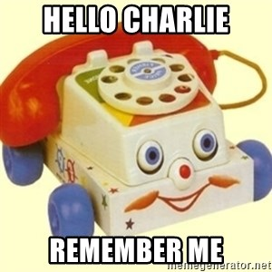 Sinister Phone - Hello Charlie Remember Me