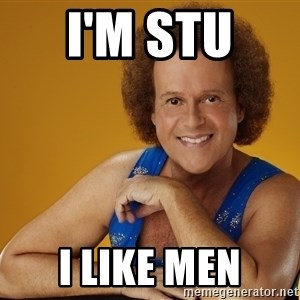 Gay Richard Simmons - I'm stu  I like men