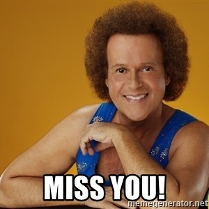 Gay Richard Simmons -  Miss you!