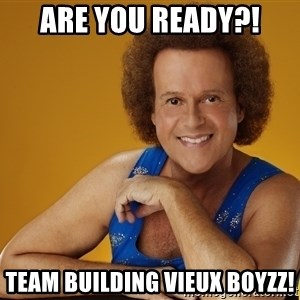 Gay Richard Simmons - Are You Ready?! Team Building Vieux Boyzz!