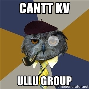 Art Professor Owl - CANTT KV ULLU GROUP