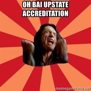 The Room - Oh bai upstate accreditation