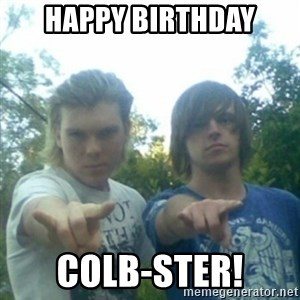 god of punk rock - happy Birthday Colb-ster!