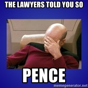 Picard facepalm  - The lawyers told you so pence