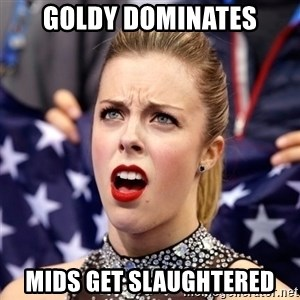 Ashley Wagner Shocker - Goldy Dominates Mids get slaughtered