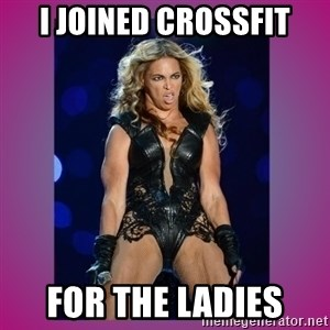 Ugly Beyonce - I joined crossfit for the ladies