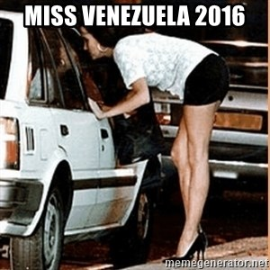 If thats what your into - miss venezuela 2016