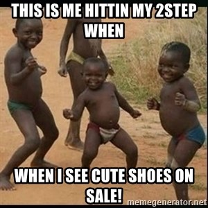 Dancing black kid - This is me hittin my 2step when   When I see cute shoes on sale!