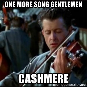 Titanic Band - one more song gentlemen cashmere