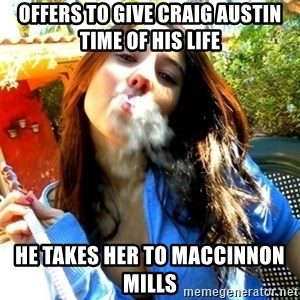 Good Girl Ana - offers to give Craig Austin time of his life he takes her to maccinnon mills