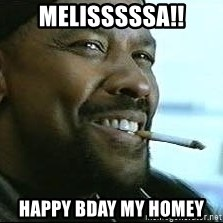 Denzel Washington Cigarette - melisssssa!! happy bday my homey