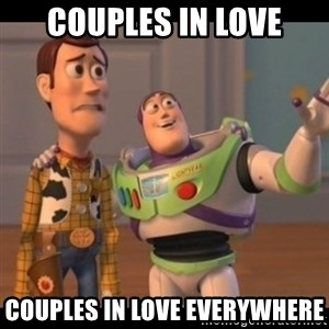 X, X Everywhere  - Couples in love Couples in love everywhere