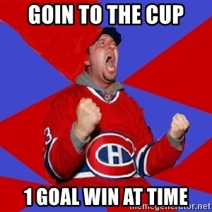 Overzealous Habs Fan Maurice - goin to the cup 1 goal win at time