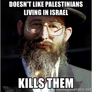 Like-A-Jew - Doesn't like Palestinians living in Israel Kills them