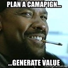 Denzel Washington Cigarette - Plan A Camapign... ...Generate Value