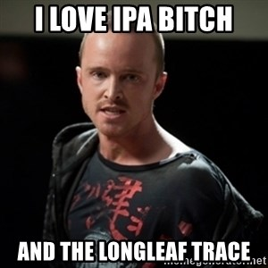 Jesse Pinkman says Bitch - I love IPA BITCH and the longleaf trace