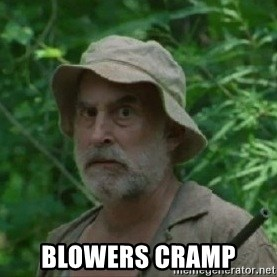 The Dale Face -  Blowers Cramp