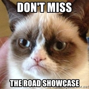 Angry Cat Meme - Don't Miss The ROAD Showcase