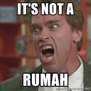 Arnold - IT'S NOT A  RUMAH