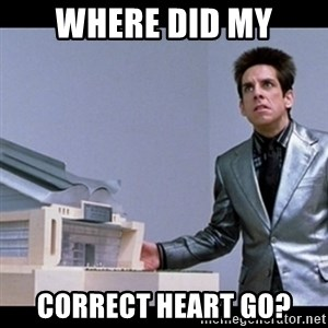 Zoolander for Ants - where did my correct heart go?