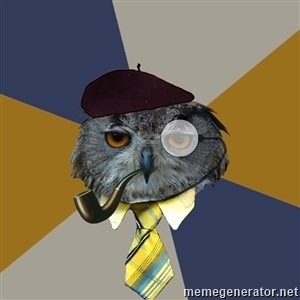 Art Professor Owl -