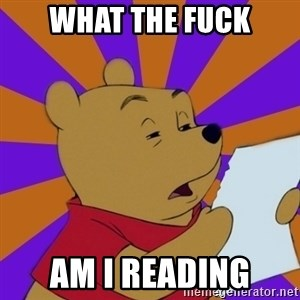 Skeptical Pooh - what the fuck am I reading