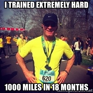 MikeRossiCheat - i trained extremely hard 1000 miles in 18 months