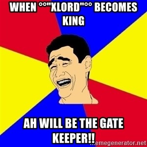 "journalist - WHEN °°""XLORD""°° Becomes KING Ah WILL BE THE GATE KEEPER!!"