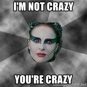Black Swan Eyes - I'm not crazy You're crazy