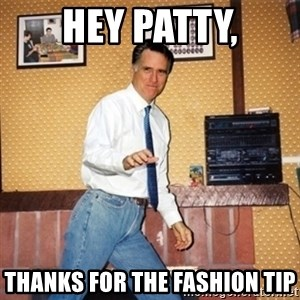 Mom Jeans Mitt - Hey Patty, Thanks for the fashion tip