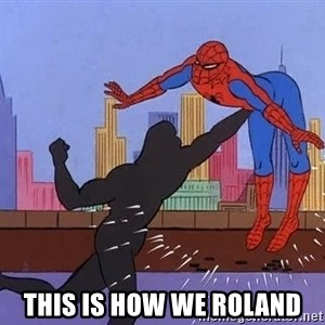 crotch punch spiderman -  This is how we roland