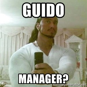 Guido Jesus - Guido Manager?