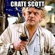 Doc Back to the future - Crate Scott