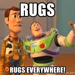 Woody and Buzz HD - RUGS RUGS EVERYWHERE!