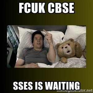 ted fuck you thunder - FCUK CBSE SSES IS WAITING