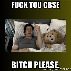 ted fuck you thunder - FUCK YOU CBSE BITCH PLEASE.