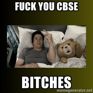ted fuck you thunder - FUCK YOU CBSE BITCHES