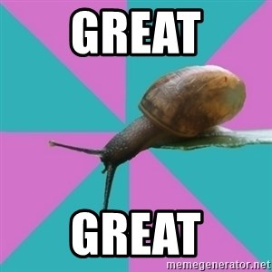 Synesthete Snail - great great