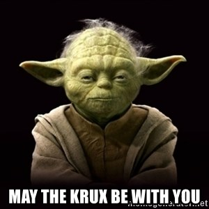 ProYodaAdvice -  may the krux be with you