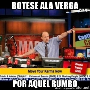 Mad Karma With Jim Cramer - botese ala verga por aquel rumbo