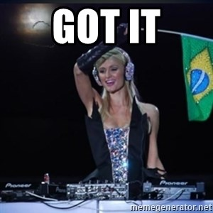 paris hilton dj - GOT IT