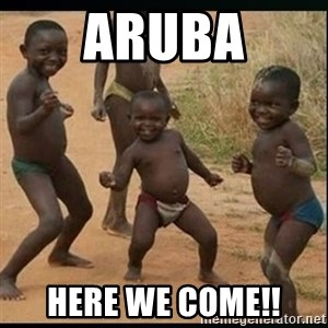Dancing black kid - Aruba here we come!!