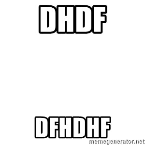 Blank Template - dhdf dfhdhf