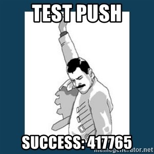 Freddy Mercury - test push success: 417765