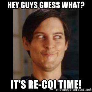 Toby Maguire trollface - Hey Guys guess what? it's re-cqi time!