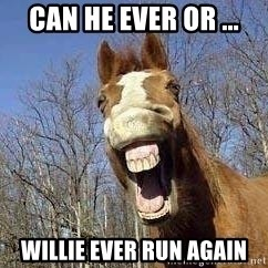 Horse - Can He Ever or ... Willie Ever Run Again