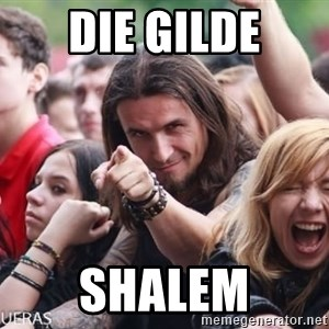 Ridiculously Photogenic Metalhead Guy - Die Gilde Shalem