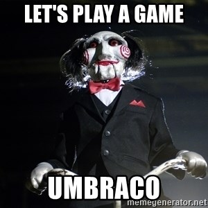 Jigsaw - Let's play a game umbraco