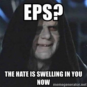 emperor palpatine good good - EPS? THE HATE IS SWELLING IN YOU NOW