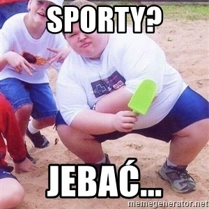 American Fat Kid - Sporty? Jebać...